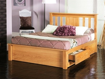 Limelight Vesta 4 6 Double Natural Wooden Bed