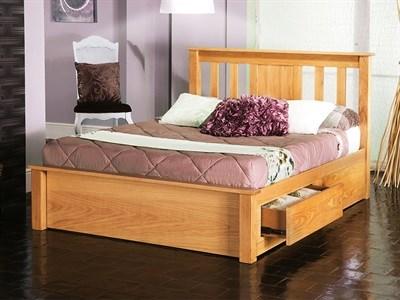 Limelight Vesta 6 Super King Natural Wooden Bed