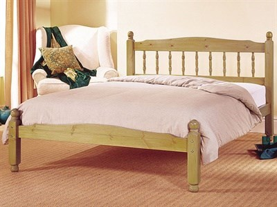 AirSprung Vancouver 3 Single Slatted Bedstead Wooden Bed