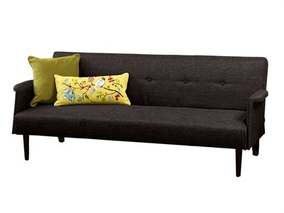 Limelight Vega 4 Small Double Grey Other Sofa Bed