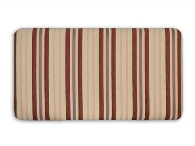 New Design Venus - Cerise Stripe 5 King Size Cerise Stripe Fabric Headboard