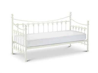 Julian Bowen Versailles Daybed 3' Single White Guest Bed