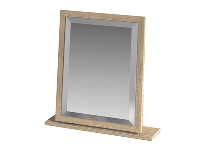 Furniture Express Vienna Small Mirror Bordeaux Oak Assembled Mirror