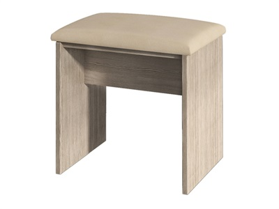 Furniture Express Vienna Stool Bordeaux Oak One Seater Stool