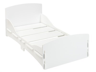 Kidsaw Shorty Junior Bed White 2 6 Small Single Childrens