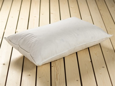 The White Goose Feather & Down Pillow