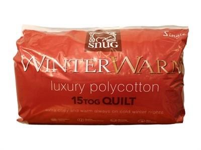 Snug Co Ltd 15 Tog Polycotton Quilt 5 King Size Duvet