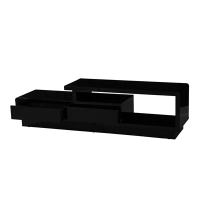 Product photograph showing Abberly High Gloss Tv Cabinet