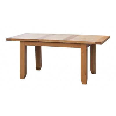 Product photograph showing Acorn Solid Oak Extending Table Large