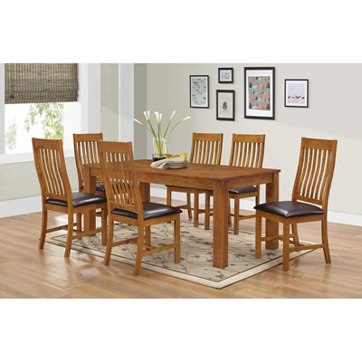 Product photograph showing Adderley Dining Set With 6 Chairs