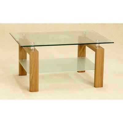 Product photograph showing Adina Coffee Table Oak