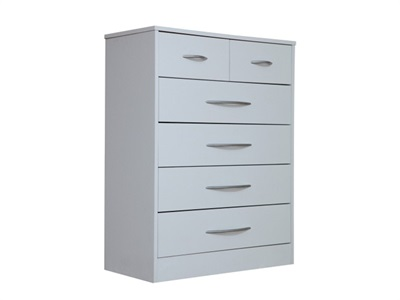 Kidsaw Arctic Hare Drawer Chest White Drawer Chest