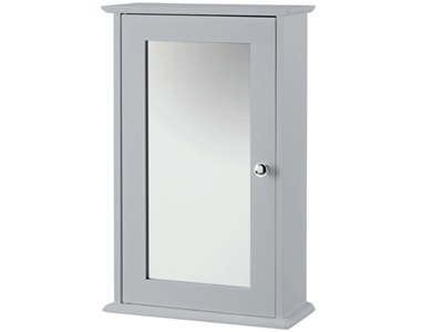 Product photograph showing Alaska Wall Cabinet With Mirror