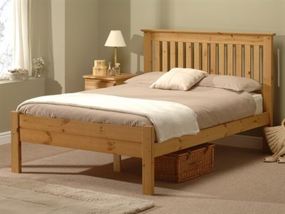 Snuggle Beds Alder Antique 3 Single Antique Wax Wooden Bed