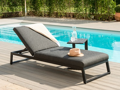 Product photograph showing Allure Sunlounger