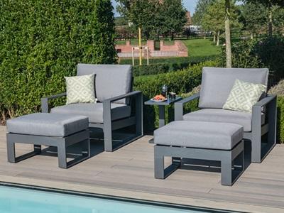 Product photograph showing Amalfi 5pc Lounge Set