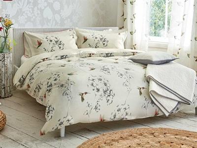 Product photograph showing Amazilia Duvet Cover Linen