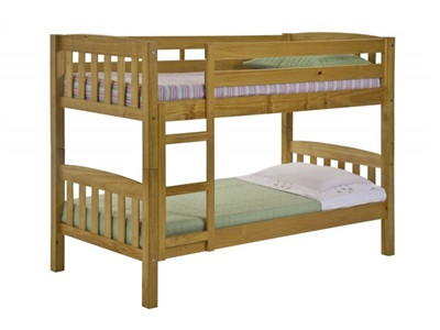 Verona Design Ltd America Bunk Antique 3 Single Antique Bunk Bed Bunk Bed