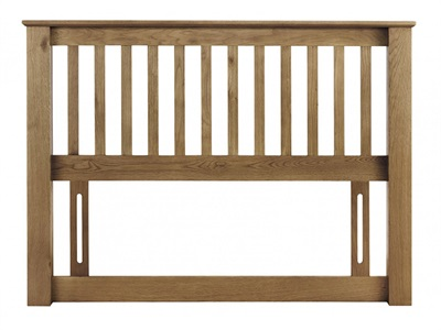 Julian Bowen Amsterdam Oak Headboard 4 6 Double Wooden Headboard