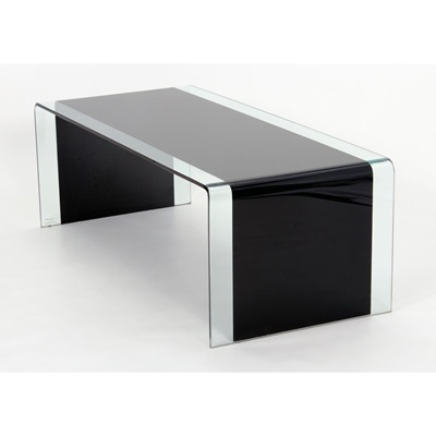 Product photograph showing Angola Black Coffee Table