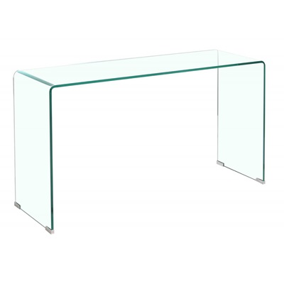 Product photograph showing Angola Clear Console Table