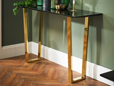 Product photograph showing Antibes Console Table