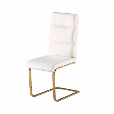 Product photograph showing Antibes Dining Chair White Pack Of 2