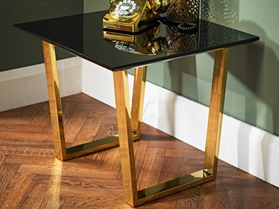 Product photograph showing Antibes Lamp Table