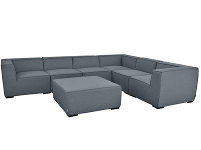 Product photograph showing Apollo Large Corner Sofa Group