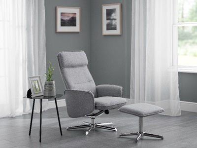 Product photograph showing Aria Recliner Stool