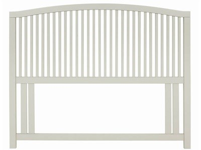 Bentley Designs Ashby Cotton 3 Single White Headboard Only Wooden Headboard