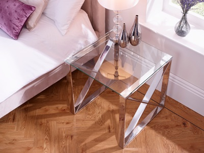 Product photograph showing Astra Lamp Table