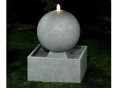 Product photograph showing Axel Large Water Feature With 1 Led
