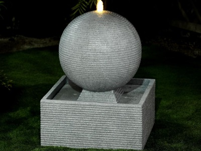 Product photograph showing Axel Water Feature