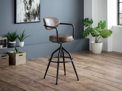 Product photograph showing Barbican Barstool