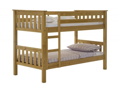 Verona Design Ltd Barcelona Bunk Antique 3 Single Antique Bunk Bed