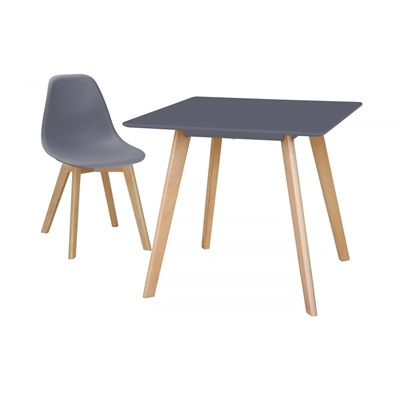 Product photograph showing Belgium Small Dining Table