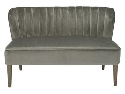 Product photograph showing Bella Grey Sofa