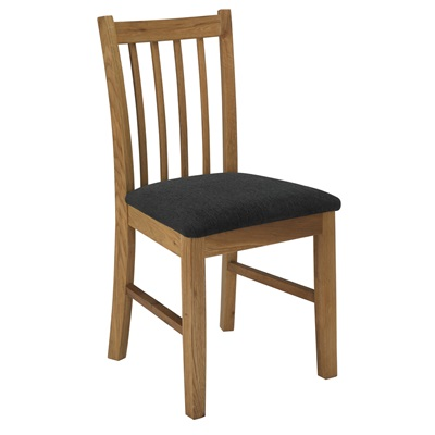Product photograph showing Brooklyn Dining Chair Oak Pack Of 2