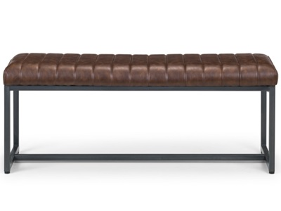 Product photograph showing Brooklyn Upholstered Bench