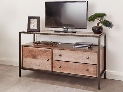 Product photograph showing Brunel Tv Unit Mango