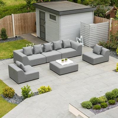 Product photograph showing Buddha Outdoor Fabric Sofa Set