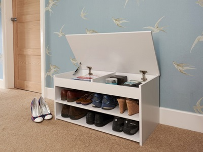Product photograph showing Budget Shoe Cabinet