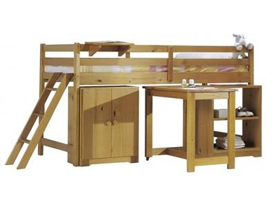 Verona Design Ltd Cabin Bed Set 1 3 Single Antique Frame Only Cabin Bed