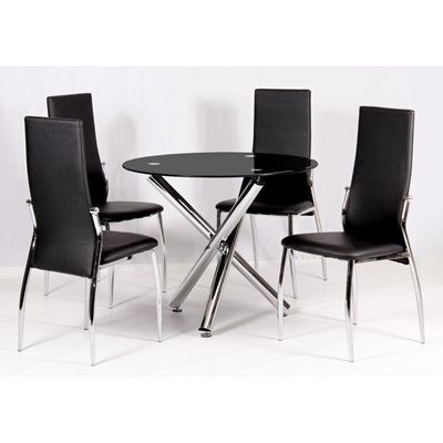 Product photograph showing Calder Dining Table
