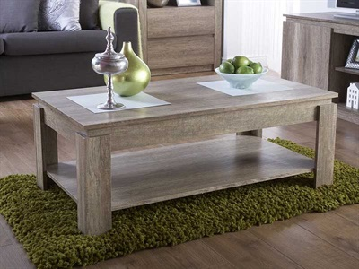 Product photograph showing Canyon Oak Coffee Table