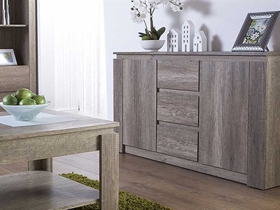 Product photograph showing Canyon Oak Sideboard