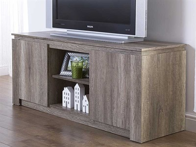 Product photograph showing Canyon Oak Tv Unit