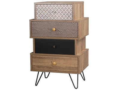 Product photograph showing Casablanca 4 Drawer Chest