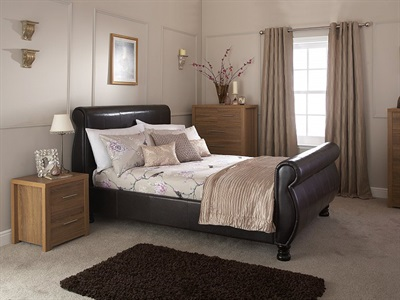 GFW Chicago 4 6 Double Bed